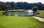 GROESBEEK - Golfbaan Rijk van Nijmegen. Groesbeekse baan. Hole Oost 1. COPYRIGHT KOEN SUYK