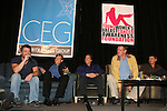 Daniel Cosgrove, Grant Aleksander, Bradley Cole, Jordan Clarke, Jeff Branson - GL cast on stage -  So Long Springfield event brought out Guiding Light Actors as they  came to see fans at the Hyatt Regency in Pittsburgh, PA. for Q & A, acting scenes between actors and fans, and entertainment (singing) by GL finest during the weekend of October 24 and 25, 2009. (Photo by Sue Coflin/Max Photos)