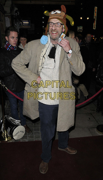 LONDON, ENGLAND - JANUARY 29: Arthur Smith attends the &quot;Di and Viv and Rose&quot; press night, Vaudeville Theatre, The Strand, on Thursday January 29, 2015 in London, England, UK. <br /> CAP/CAN<br /> &copy;Can Nguyen/Capital Pictures