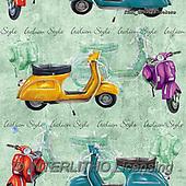 Marcello, GIFT WRAPS, GESCHENKPAPIER, PAPEL DE REGALO, paintings+++++,ITMCGPED1367COLORS,#GP#, EVERYDAY ,vespa,scooters