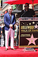 Pitbull, Luther Campbell<br /> at the Pitbull Star on the Hollywood Walk of Fame Ceremony, Hollywood, CA 07-15-16<br /> David Edwards/DailyCeleb.com 818-249-4998