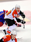 7 December 2009: Philadelphia Flyers' center Danny Briere in action against the Montreal Canadiens at the Bell Centre in Montreal, Quebec, Canada. The Canadiens defeated the Flyers 3-1. Mandatory Credit: Ed Wolfstein Photo