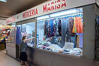 Madrid - Mercado San Fernando, Merceria Marisa