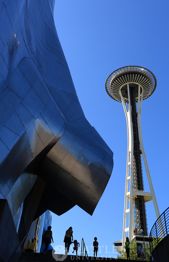 07302014- Seattle's Space Needle and Experience Music Project Museum (EMP)
