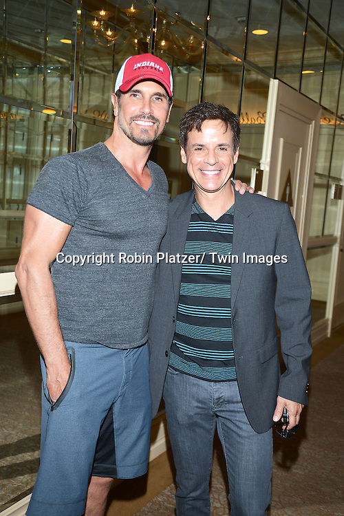 Don Diamont and son Luca attends the Gifting Suite for the Daytime Emmy Awards by Off The Wall Productions on June 16, 2013 at the Beverly Hilton  in Beverly Hills, California.