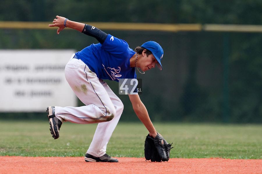 23 September 2009: Pole Baseball Rouen, Oscar Combes de Leon