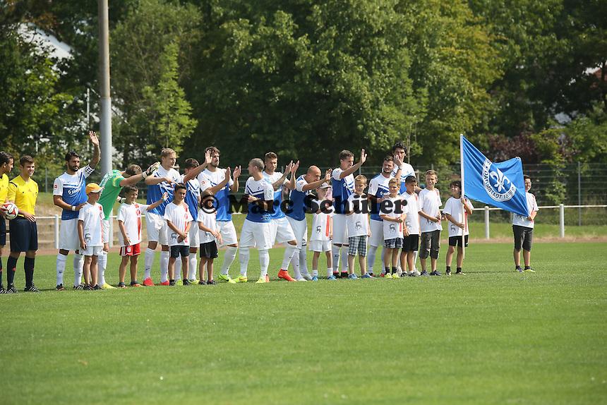 SV Darmstadt 98 begrüßt die Fans