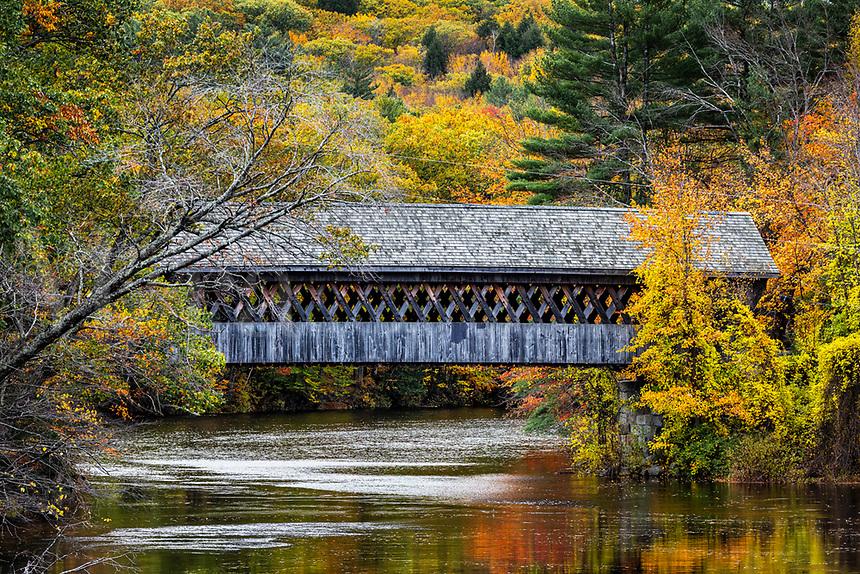 New England College Covered Bridge.