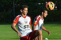 SAO PAULO, 04 DE JUNHO DE 2013 - TREINO SAO PAULO - O jogador Paulo Henrique Ganso durante treino do Sao Paulo, no CT da Barra Funda, na tarde desta terça fera, 04, região oeste da capital. (FOTO: ALEXANDRE MOREIRA / BRAZIL PHOTO PRESS)