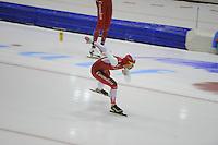 SCHAATSEN: HEERENVEEN: 24-10-2014, IJsstadion Thialf, Topsporttraining, Marrit Leenstra, ©foto Martin de Jong