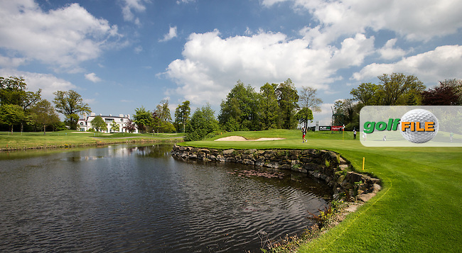 View of the 12th green during Monday's practice round ahead of the 2016 Dubai Duty Free Irish Open Hosted by The Rory Foundation which is played at the K Club Golf Resort, Straffan, Co. Kildare, Ireland. 16/05/2016. Picture Golffile | David Lloyd.<br /> <br /> All photo usage must display a mandatory copyright credit as: &copy; Golffile | David Lloyd.