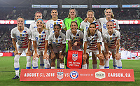 USWNT vs Chile, August 31, 2019