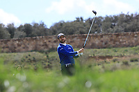 Alejandro Canizares (ESP) on the 11th tee during Round 2 of the Open de Espana 2018 at Centro Nacional de Golf on Friday 13th April 2018.<br /> Picture:  Thos Caffrey / www.golffile.ie<br /> <br /> All photo usage must carry mandatory copyright credit (&copy; Golffile | Thos Caffrey)