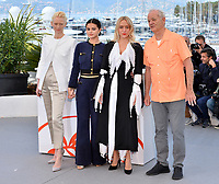 """CANNES, FRANCE. May 15, 2019: Tilda Swinton, Selena Gomez, Chloe Sevigny & Bill Murray at the photocall for """"The Dead Don't Die"""" at the 72nd Festival de Cannes.<br /> Picture: Paul Smith / Featureflash"""