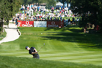 Marcus Kinhult (SWE) in action on the 6th hole during second round at the Omega European Masters, Golf Club Crans-sur-Sierre, Crans-Montana, Valais, Switzerland. 30/08/19.<br /> Picture Stefano DiMaria / Golffile.ie<br /> <br /> All photo usage must carry mandatory copyright credit (© Golffile | Stefano DiMaria)