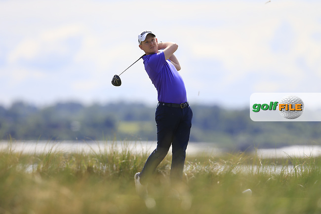 Geoff Lenehan (Portmarnock) during the 2nd round of the East of Ireland championship, Co Louth Golf Club, Baltray, Co Louth, Ireland. 03/06/2017<br /> Picture: Golffile | Fran Caffrey<br /> <br /> <br /> All photo usage must carry mandatory copyright credit (&copy; Golffile | Fran Caffrey)