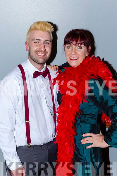 Irene Hurley  and her son Odran who are both in this years Musical Me and My Girl