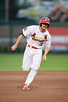 Springfield Cardinals third baseman Danny Diekroeger (30) runs the bases during a game against the Corpus Christi Hooks on May 31, 2017 at Hammons Field in Springfield, Missouri.  Springfield defeated Corpus Christi 5-4.  (Mike Janes/Four Seam Images)