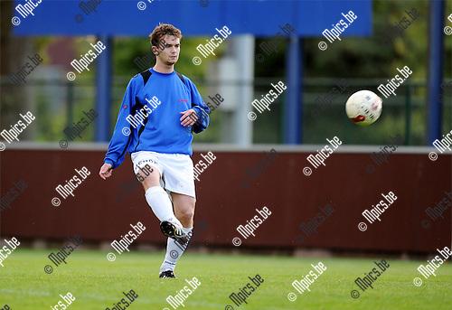 2011-07-30 / Voetbal / seizoen 2011-2012 / Wuustwezel FC / Kristof Van den Buys..Foto: mpics