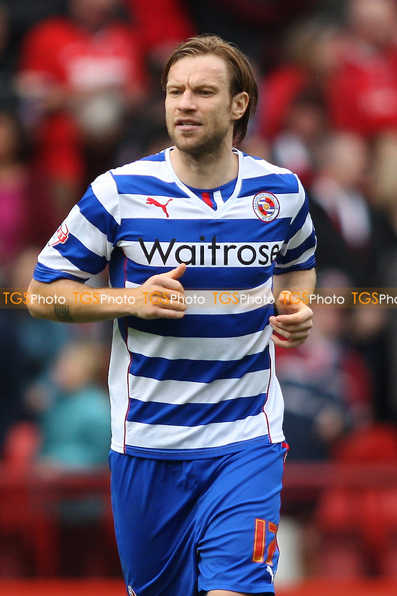Kaspars Gorkss of Reading - Charlton Athletic vs Reading - Sky Bet Championship Football at the Valley, London - 05/04/14 - MANDATORY CREDIT: George Phillipou/TGSPHOTO - Self billing applies where appropriate - 0845 094 6026 - contact@tgsphoto.co.uk - NO UNPAID USE