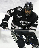 Erik Foley (PC - 12) - The Harvard University Crimson defeated the Providence College Friars 3-0 in their NCAA East regional semi-final on Friday, March 24, 2017, at Dunkin' Donuts Center in Providence, Rhode Island.
