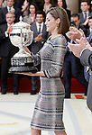 Queen Letizia of Spain during the National Sports Awards 2014. November 17, 2015.(ALTERPHOTOS/Acero)
