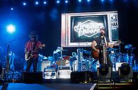29 September 2017 - Las Vegas, NV -  Brothers Osborne, John Osborne, TJ Osborne.  2017 Route 91 Harvest Festival Day 1 at MGM Village. Photo Credit: MJT/AdMedia