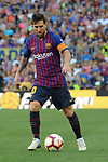 53e Trofeu Joan Gamper.<br /> FC Barcelona vs Club Atletico Boca Juniors: 3-0.<br /> Lionel Messi.