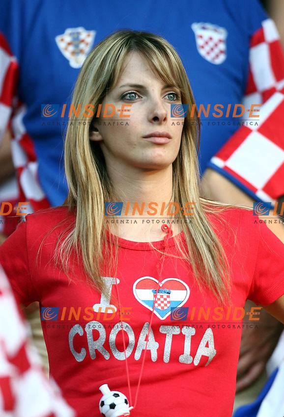 MG Vienna ( Austria) 20/06/2008  - Euro 2008 / Croazia-Turchia/ Foto Andrea Staccioli / Insidefoto<br /> <br /> Nella foto: Tifosi Croazia