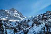 The Dossen and Rosenlauigletscher, Switzerland