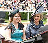 "PRINCESS EUGENIE AND DUCHESS OF GLOUCESTER.Royal Ascot 2012, Ascot_19/06/2012.Mandatory Credit Photo: ©Dias/NEWSPIX INTERNATIONAL..**ALL FEES PAYABLE TO: ""NEWSPIX INTERNATIONAL""**..IMMEDIATE CONFIRMATION OF USAGE REQUIRED:.Newspix International, 31 Chinnery Hill, Bishop's Stortford, ENGLAND CM23 3PS.Tel:+441279 324672  ; Fax: +441279656877.Mobile:  07775681153.e-mail: info@newspixinternational.co.uk"