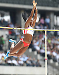 11.09.2011, Olympic Stadium / Olympiastadion, Berlin, GER, ISTAF 2011, im Bild Yarisley SILVA (CUB) in der Disziplin Frauen - Stabhochsprung // Yarisley SILVA (CUB) competing in Women - Pole Vault during the ISTAF 2011 held in Berlin, GER, EXPA Pictures © 2011, PhotoCredit: EXPA/ S. Kiesewetter