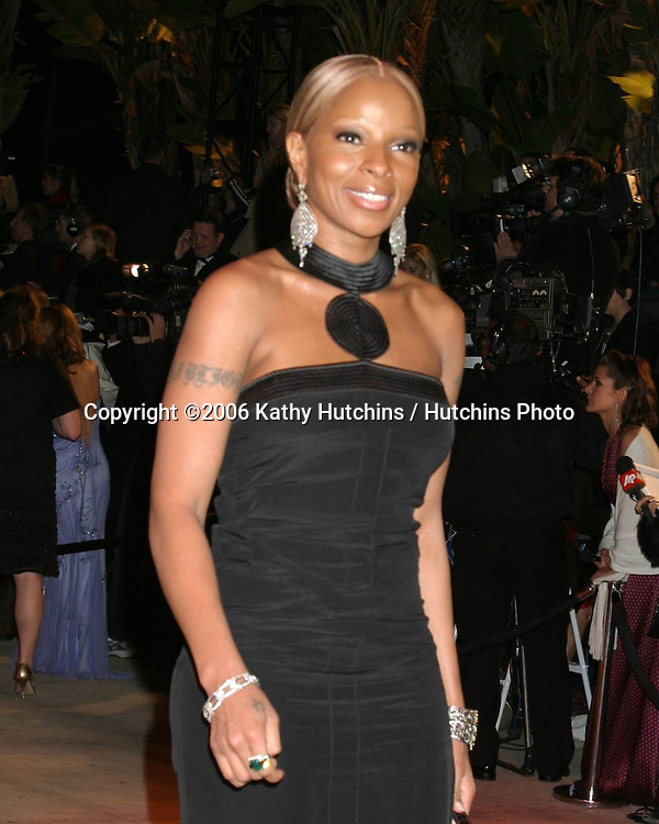 Mary J Blige.Vanity Fair Oscar Party.Mortons.W Hollywood, CA.March 5, 2006.©2006 Kathy Hutchins / Hutchins Photo....