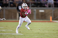 Stanford, CA - October 05, 2019: Connor Wedington during the Stanford vs Washington football game Saturday night at Stanford Stadium.<br /> <br /> Stanford won 23-13.