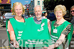 Sue McDonoghue, Ger Murphy and Eileen McSparron who have been appointed as The Gathering Ambassadors in Killarney