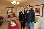 Redrow Homes.Show House Opening-Altwen Gardens, Pontardawe..Ceri and Amy Llewellyn from Pontardawe..26.01.13.©Steve Pope