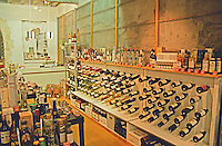 Wine shop. Avignon. Rhone Valley, France