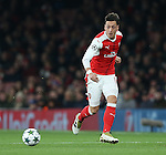 Arsenal's Mesut Ozil in action during the Champions League group A match at the Emirates Stadium, London. Picture date November 23rd, 2016 Pic David Klein/Sportimage