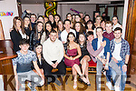 Ciara Begley, Caherslee, Tralee, celebrates her 18th Birthday with family and friends at the Abbey Inn on Saturday