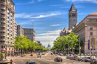 Capitol Building Constitution Avenue Pennsylvania Avenue Washington DC