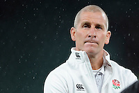 Stuart Lancaster, England Team Manager, rues the result after the QBE International match between England and New Zealand at Twickenham Stadium on Saturday 8th November 2014 (Photo by Rob Munro)