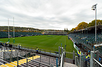 A general view of the Recreation Ground pitch. Heineken Champions Cup match, between Bath Rugby and Stade Toulousain on October 13, 2018 at the Recreation Ground in Bath, England. Photo by: Patrick Khachfe / Onside Images