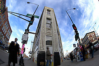 photographs from the flatiron project. the inside out, the outside in, and the inside in.