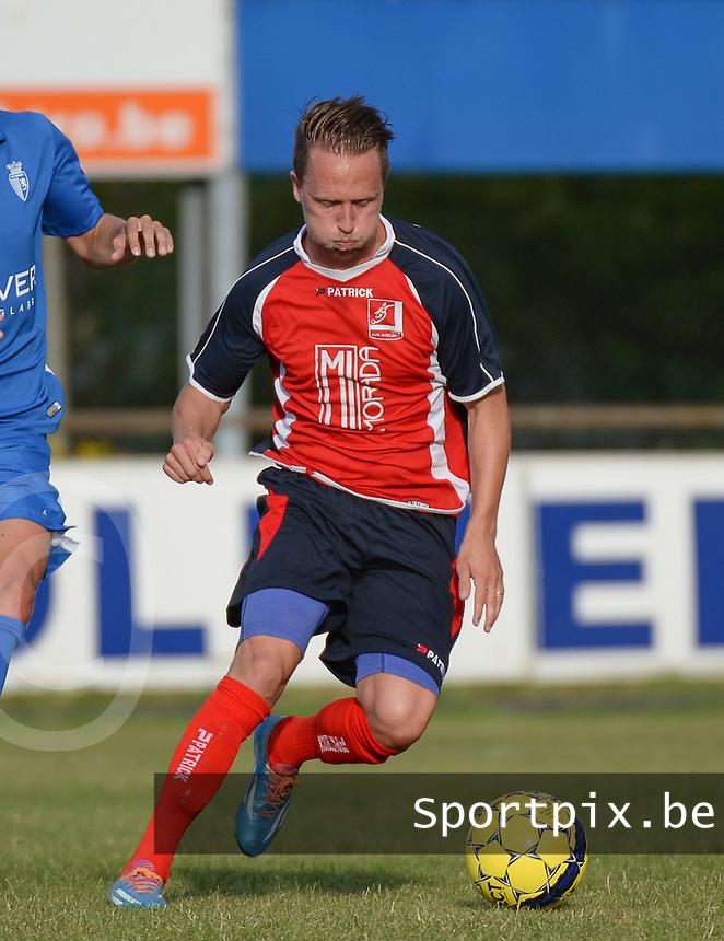 KVK Avelgem : Mathias Viaene <br /> Foto VDB / Bart Vandenbroucke
