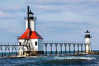 64795-02719 St. Joseph North Pier Lighthouses St. Joseph, MI