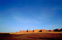 Panorama of Monument Valley, UT. Monument Valley, Utah.