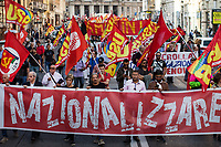 20.10.2018 - Nationalizations Now – National Demonstration in Rome