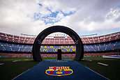 12th September 2017, Camp Nou, Barcelona, Spain; UEFA Champions League Group stage, FC Barcelona versus Juventus; Camp Nou Stadium hours before the start of the first European match of the season