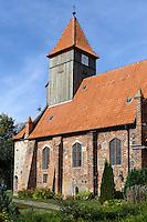 St. Katharinen in Middellhagen auf Rügen, Mecklenburg-Vorpommern, Deutschland