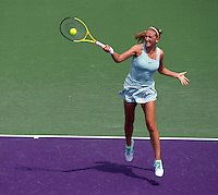 Victoria AZARENKA (BLR) against Alexandra DULGHERU (BUL) in the second round of the womens singles. Azarenka beat Dulgheru 6-3 6-2..International Tennis - 2010 ATP World Tour - Sony Ericsson Open - Crandon Park Tennis Center - Key Biscayne - Miami - Florida - USA - Fri 26 Mar 2010..© Frey - Amn Images, Level 1, Barry House, 20-22 Worple Road, London, SW19 4DH, UK .Tel - +44 20 8947 0100.Fax -+44 20 8947 0117
